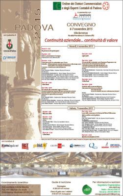 Continuità aziendale... continuità di valore, Padova2015_MP